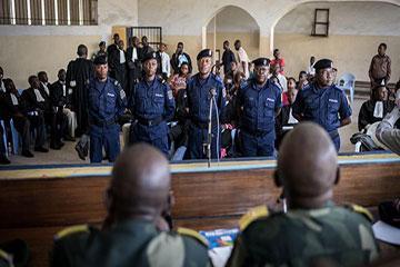 RDC : Nominations des nouveaux magistrats militaires